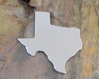 "10 Deburred 18G Aluminum 1 1/4"" X 1 1/4"" TEXAS Stamping Blanks"