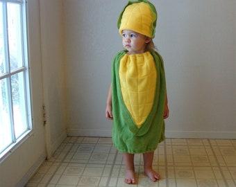 Baby Corn on the Cob Costume Hallowen Infant Toddler Newborn Twin Set Vegetable Photo Prop Boy Girl Carnaval Carnival Purim Fancy Dress