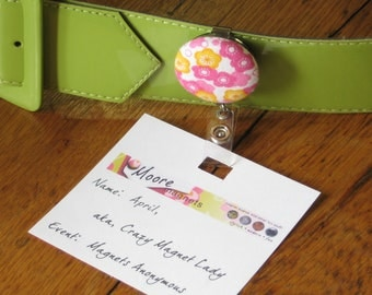 Badge Reel Id Holder Customized- Pick from many designs