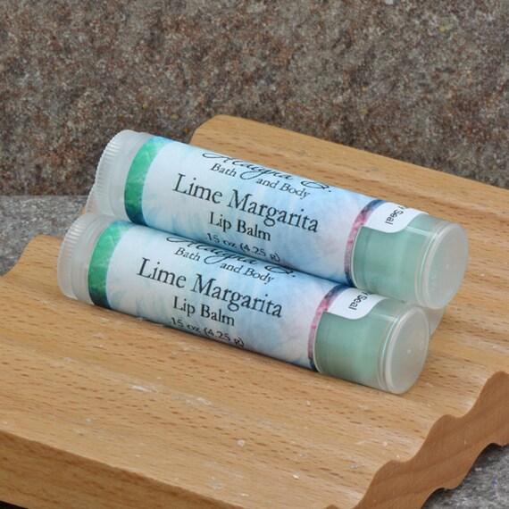 Lime Margarita Flavored Lip Balm
