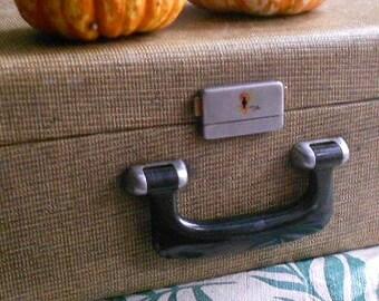 Vintage CASE, TOTE, CARRIER, utility case, attache case, storage box, home decor, display, office