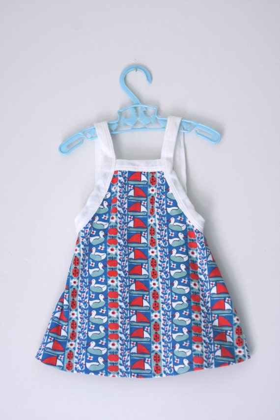 Vintage Absorba French sundress 12 to 18 months