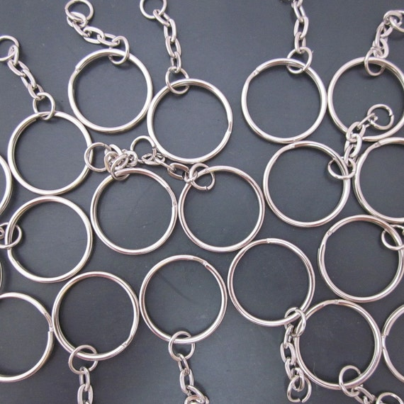 20 Split Ring Key Chains