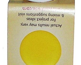Opaque Yellow Resin Pigment Colorant Liquid CastinCraft