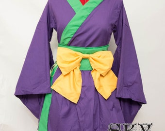 Joker Kimono Dress Set