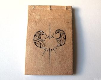 Mini Horned Notebook