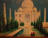 Vintage Taj Mahal tin