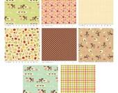 Farm Fresh Fabric by Riley Blake - 1/2 Yard Bundle - Sale - Almost Gone