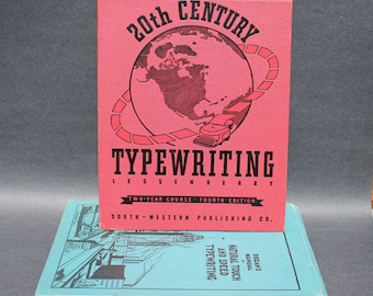 Stunning 1942 Book on Typewriting for Display or Personal Use