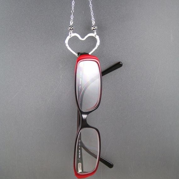Eye glasses holder necklace sun