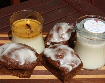 BANANA NUT BREAD Soy Candle with Wooden WIck