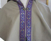 Custom Cotton Twill Trimmed Capelet Archer SCA LARP Renaissance
