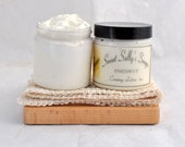 Coconut Creamy Lotion 4oz,  Rich and Moisturizing Lotion