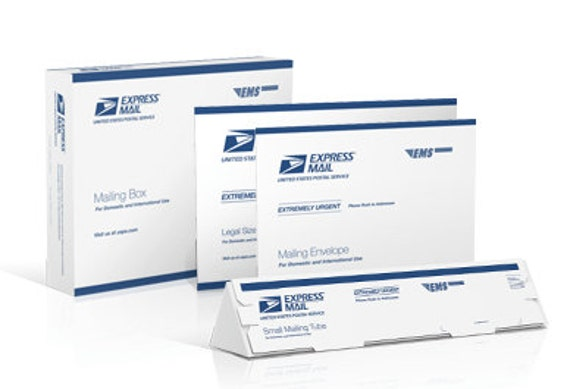 USPS Express Mail Shipping Upgrade - Rush Fee
