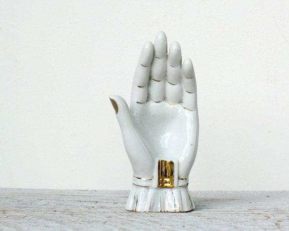 Vintage Hand Ashtray