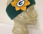 Green Bay Packers Fleece Head Band - Womens