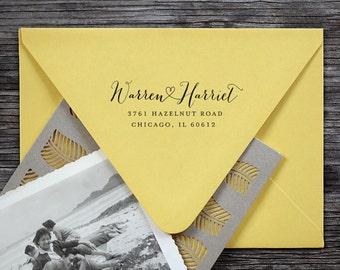 Self Inking Address Stamp, Address Stamp, Return Address Stamp, Custom Address Stamp - 3000