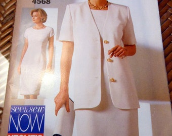 Pattern - Misses Jacket and Dress -  Sizes 6, 8, 10