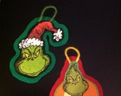 Grinchy Ornament (not a licensed product)