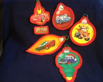 Cars Christmas Ornament Set (not a licensed product)