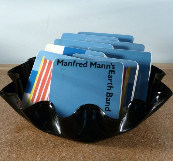 MANFRED MANN's EARTHBAND Coasters and Chance Record Bowl