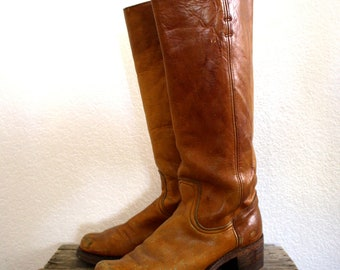 "1970's Frye ""Black Label"" Boots"