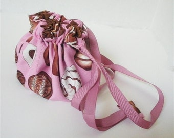 Chocolates and Pink Posy Pouch
