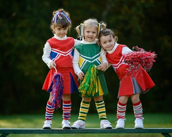 Little Cheerleader Outfit Pick your Colors