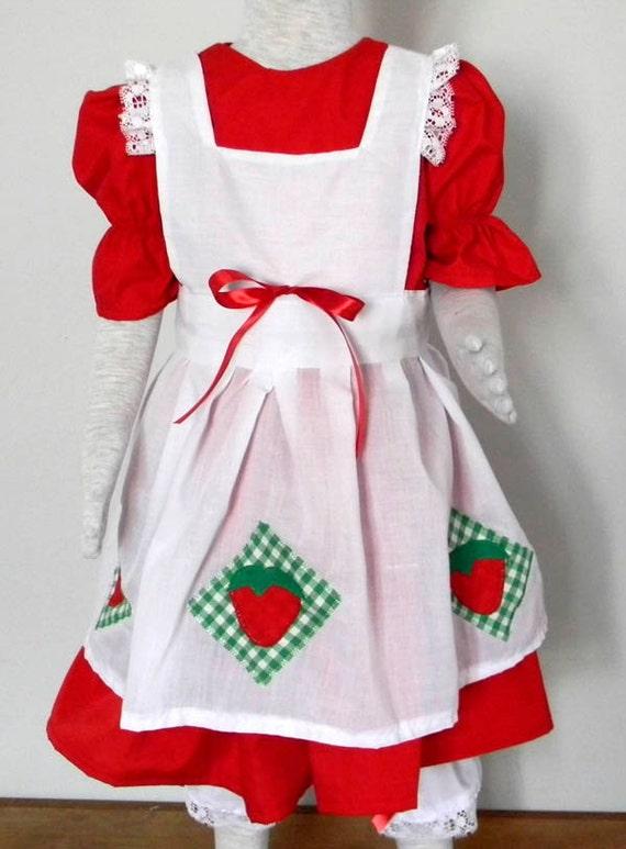 Strawberry Short Cake Dress