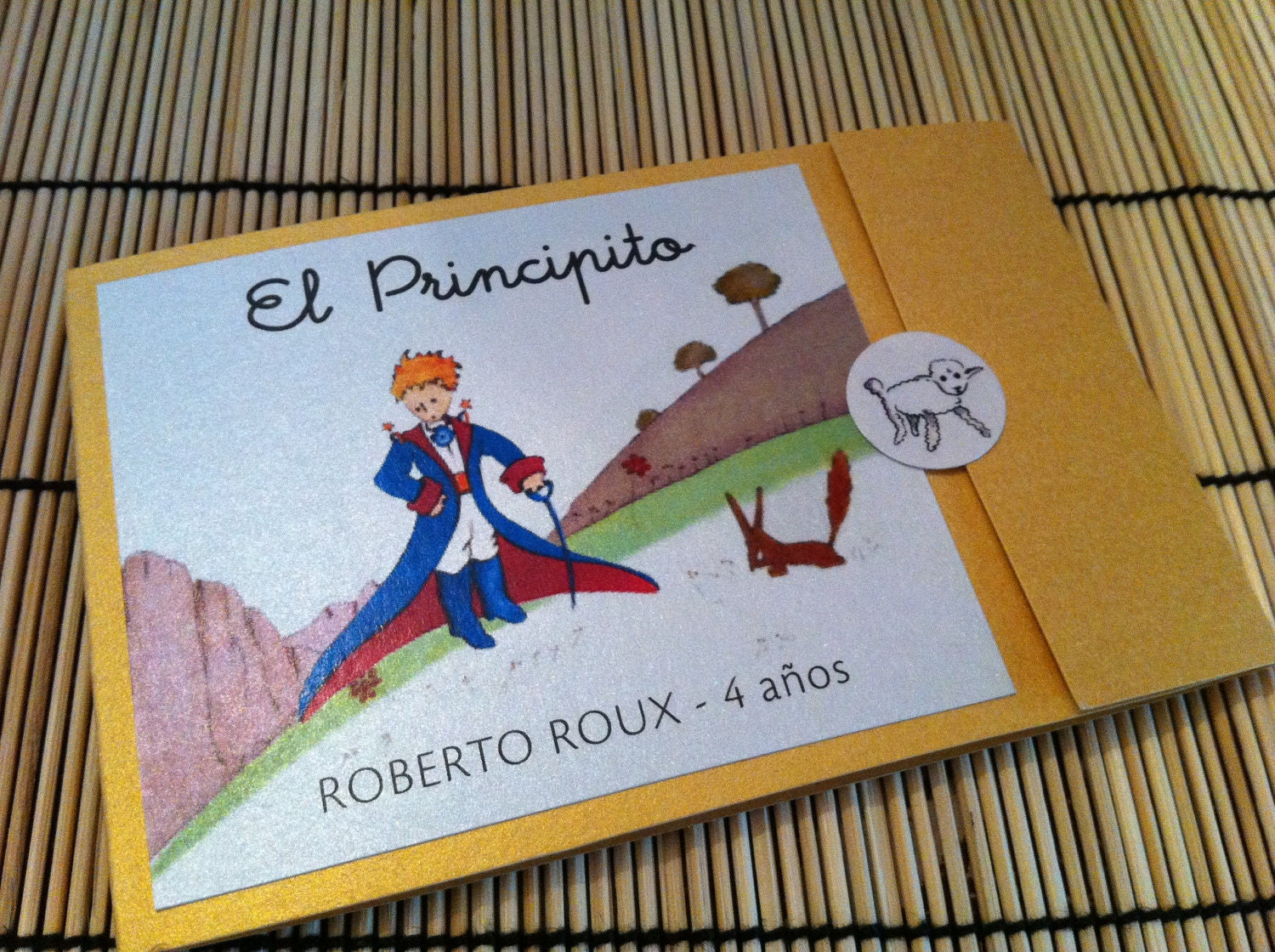anaderoux: Le Petit Prince Birthday Party Invitation - Little Prince ...