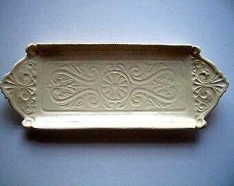 Natural Glaze Appetizer Tray