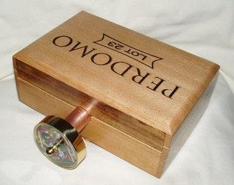 Kaleidoscope, Cigar Box, Image Wheel