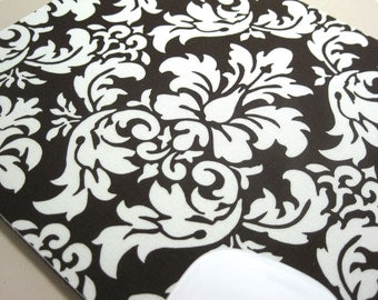 Buy 2 FREE SHIPPING Special!!   Mouse Pad, Computer Mouse Pad, Fabric Mousepad                    Dandy Damask Brown