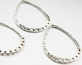 6 Pieces Oxidized Silver Tone Base Metal Earring Findings-46X31mm (26364Y-O-14A)