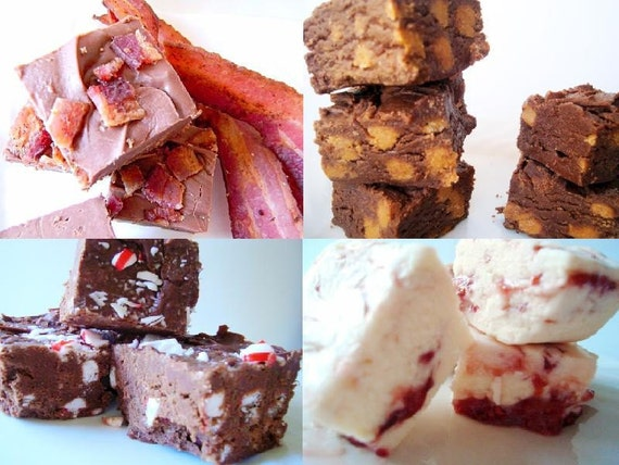 Julie's Fudge - Mini SAMPLER Pack - THREE Flavors - Three Quarter Pound