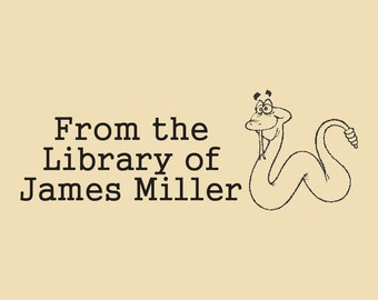 From the Library of Custom Rubber Stamp James Miller Design R059