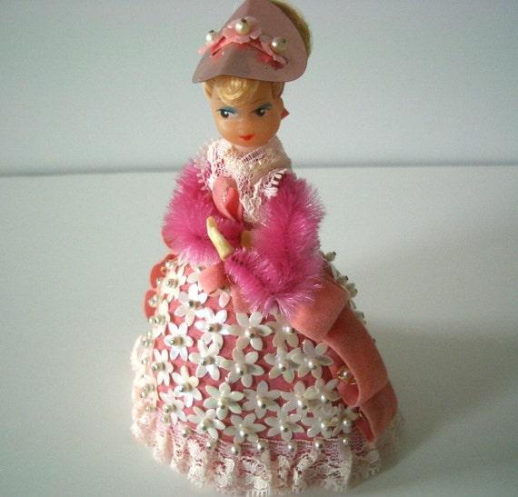 Vintage Pinflair Doll Pink