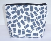 Insulated Lunch Bag Little - Zip Eco Friendly Love Sci Fi by BonTonsGifts on Etsy