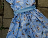 Hey Diddle Diddle Mother Goose Print Toddler Dress etsykids team