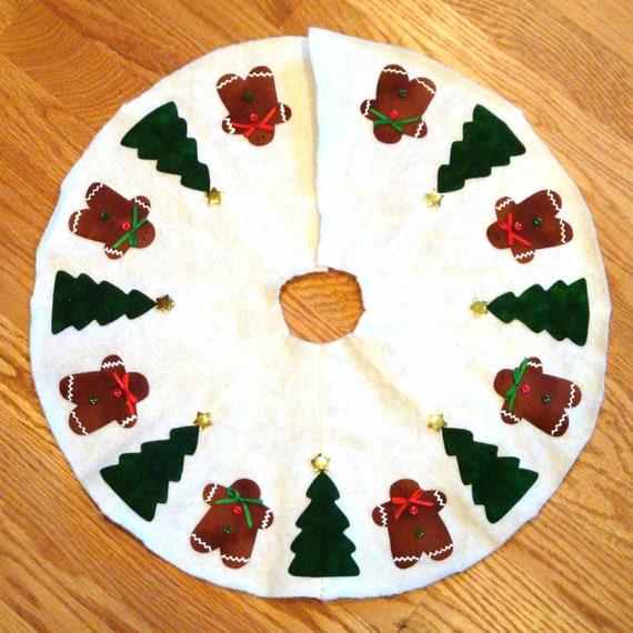 Gingerbread Man Tree Skirt 100