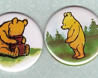 Winnie the Pooh Pocket mirrors - set ot 2