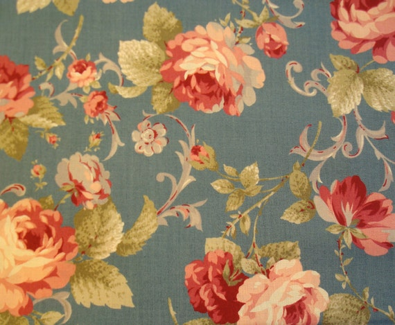Reserved for Lacey, Antique Rose by Lecien, Japanese Import Fabric