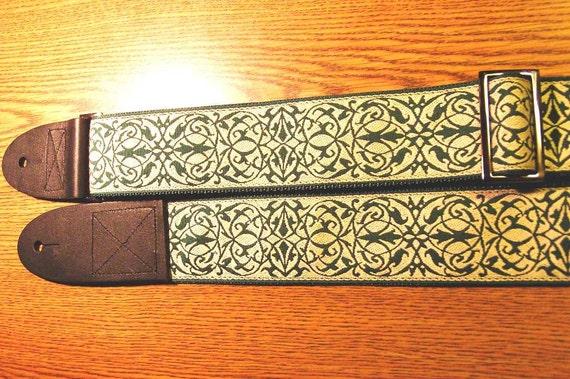 Intricate Celtic Pattern GUITAR STRAP