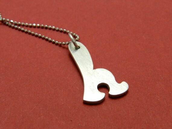 Letter H Pendant by Risko Design