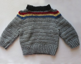 Wesley Crusher Toddler Sweater