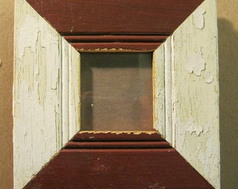 Reclaimed Wood Salvaged Picture Frame 3x3 NY- Salvage S785-12