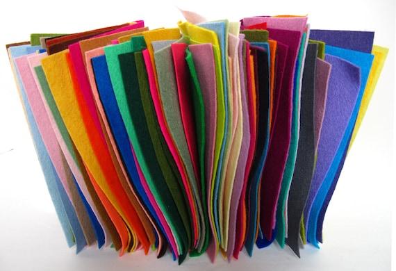 felting wool fabric wool felt assortment 100 wool pure merino sheets squares