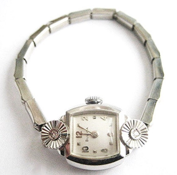 Vintage Bulova L7 Ladies Watch - 10KT Rolled Gold Plate - Non-Working For Repair or Repurpose