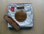 Compact, Lipstick Holder, Comb Set - boxed - Mascot - 1950s SALE PRICE