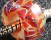 Norma Brink Glass Boro Bead - bhb handmade boro lampwork fits European style charm bracelets